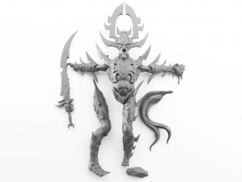 cauldron of blood statue of khaine